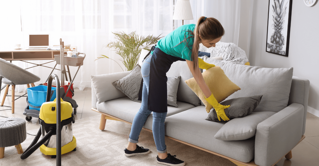 Sofa cleaning in Kyeemagh
